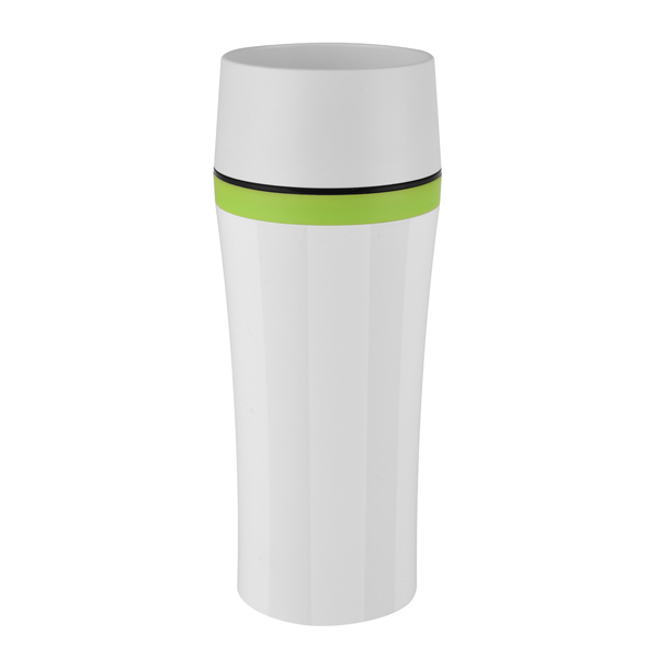 Термокружка Emsa Travel Mug Fun 0,36L White/Black (514176) термокружка emsa travel mug 0 36l blue 513552