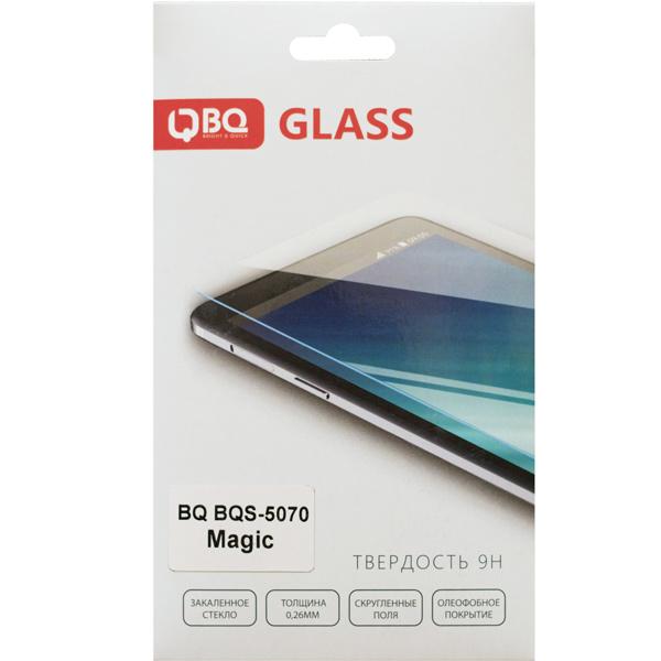 Защитное стекло BQ для BQ-5070 Magic аксессуар чехол bq bqs 5070 magic zibelino classico black zcl bq bqs 5070 blk