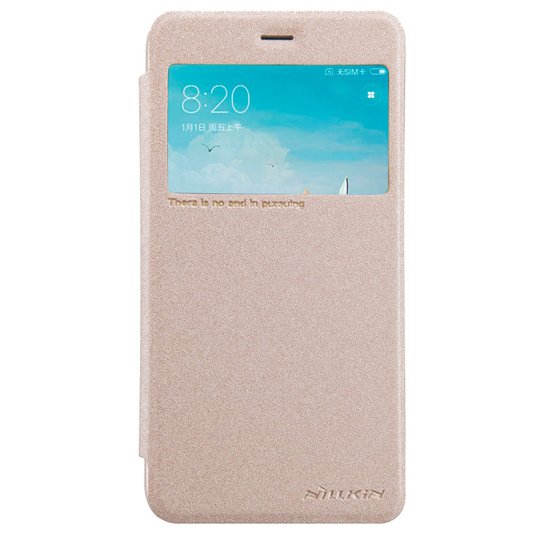 Чехол для сотового телефона Nillkin Sparkle Leather Case для Xiaomi Redmi 4X Gold