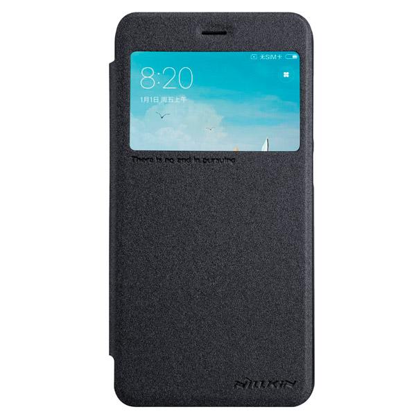 Чехол для сотового телефона Nillkin Sparkle Leather Case для Xiaomi Redmi 4X Black кейс для светового оборудования thon case 4x led par64 short