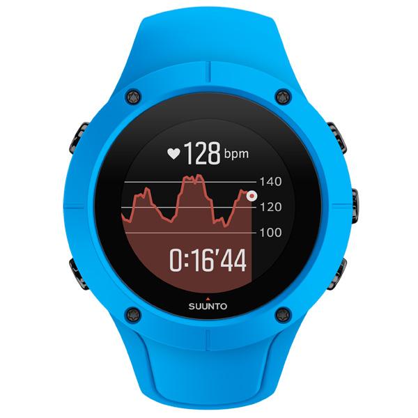 Спортивные часы Suunto Spartan Trainer Whrist HR Blue (SS023002000)