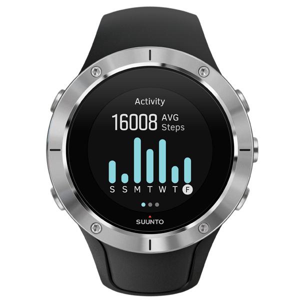 Спортивные часы Suunto Spartan Trainer Whrist HR Steel (SS023425000) спортивные часы suunto traverse graphite ss022226000