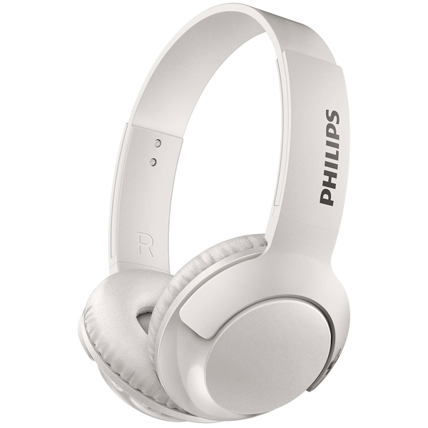 Наушники Bluetooth Philips Bass+ White (SHB3075WT/00) гарнитура philips she1455 white