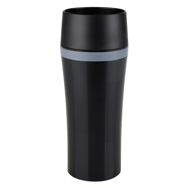 Термокружка Emsa Travel Mug Fun 0,36L Black (514179) термокружка emsa travel mug 0 36l violet 513359