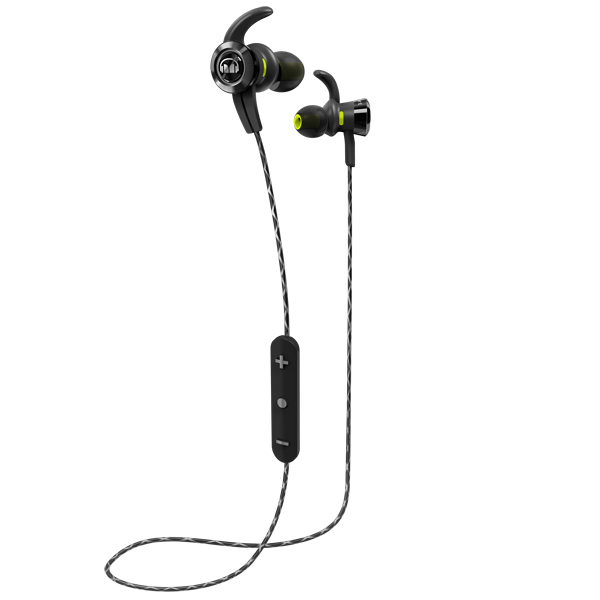 Спортивные наушники Bluetooth Monster — iSport Victory Black (137085-00)