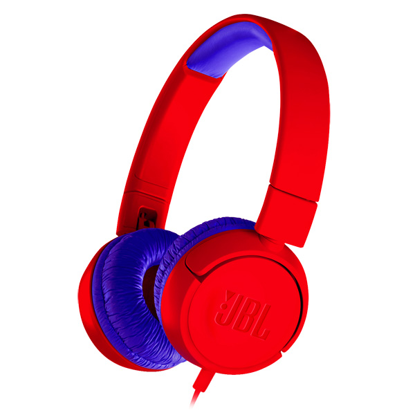 Наушники накладные JBL JR300 Red (JBLJR300RED)