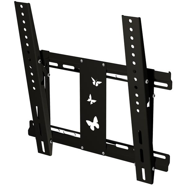 Кронштейн для ТВ наклонный Mart 402SL Black кронштейн для тв mart 105s black