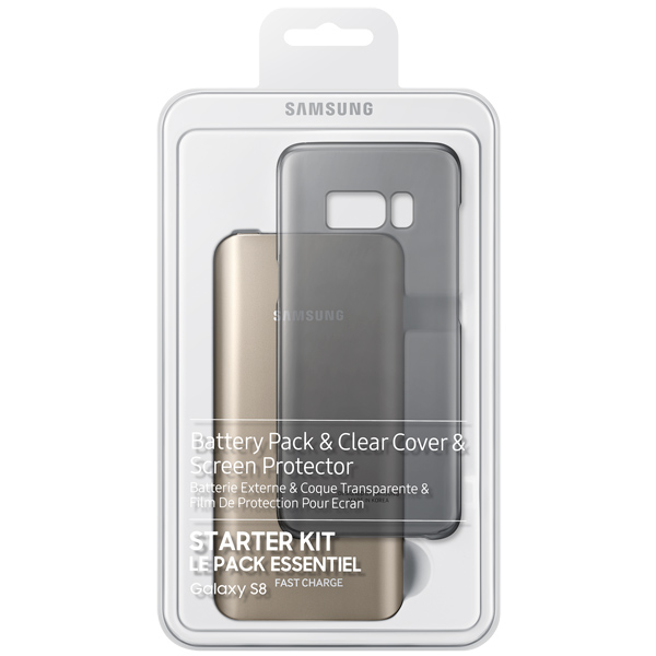 Внешний аккумулятор Samsung Starter Kit Galaxy S8 Gold/Black (EB-WG95ABBRGRU) внешний аккумулятор samsung starter kit galaxy s8 gold black eb wg95abbrgru
