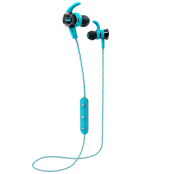 Спортивные наушники Bluetooth Monster — iSport Victory Blue (137087-00)