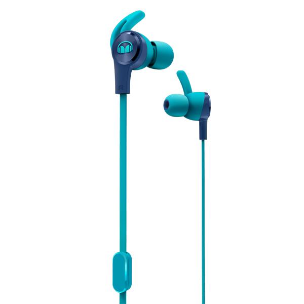 Спортивные наушники Monster — iSport Achieve Blue (137093-00)
