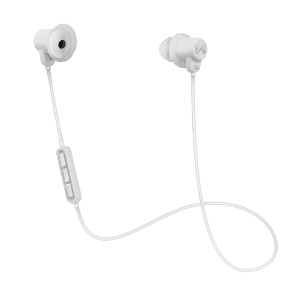 Спортивные наушники Bluetooth JBL UA BT White (UAJBLIEBTWHT) гарнитура jbl e55bt белый jble55btwht