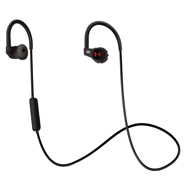 Спортивные наушники Bluetooth JBL UA HR Black (UAJBLHRMB) jbl synchros e30 black