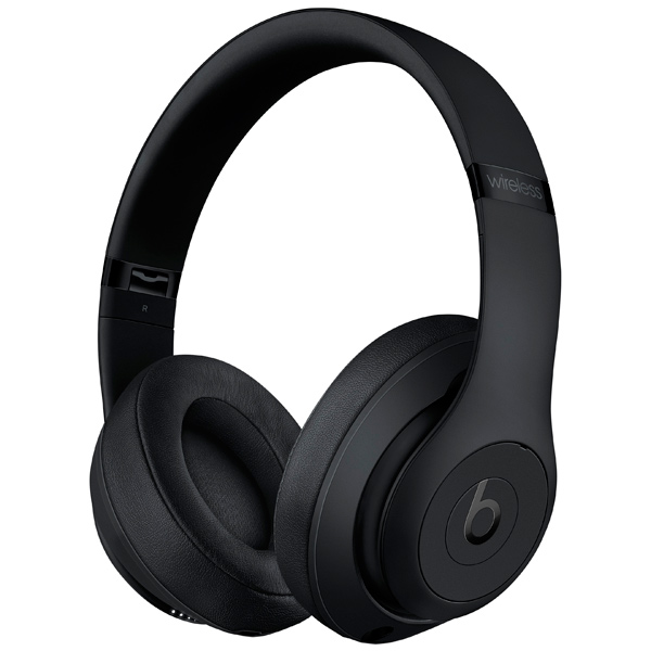 Наушники Bluetooth Beats Studio3 Wireless Matte Black (MQ562ZE/A) наушники bluetooth beats studio3 wireless matte black mq562ze a