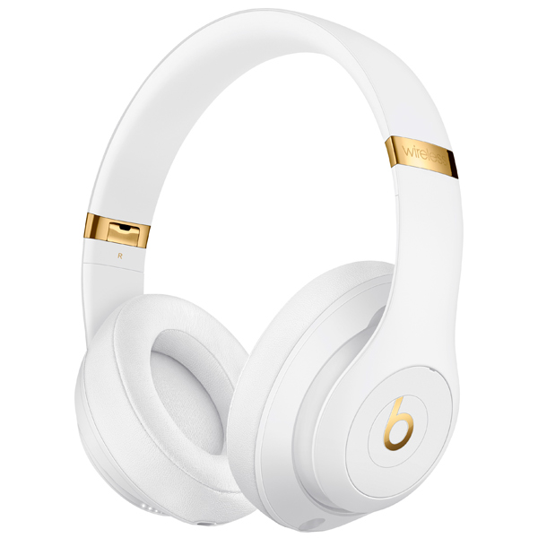 Наушники Bluetooth Beats Studio3 Wireless White (MQ572ZE/A) наушники bluetooth beats studio3 wireless matte black mq562ze a