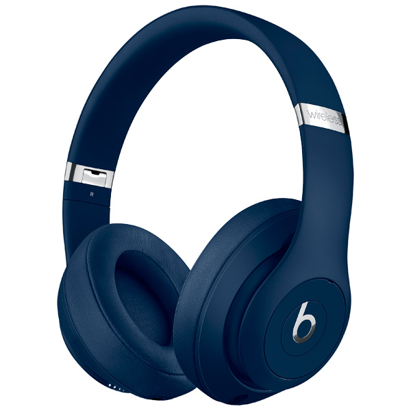 Наушники Bluetooth Beats Studio3 Wireless Blue (MQCY2ZE/A) наушники bluetooth beats studio3 wireless matte black mq562ze a