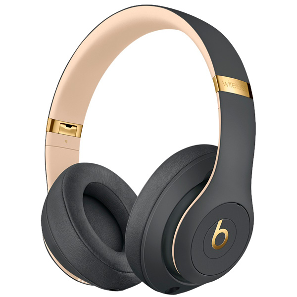 Наушники Bluetooth Beats Studio3 Wireless Shadow Grey (MQUF2ZE/A) наушники bluetooth beats studio3 wireless matte black mq562ze a