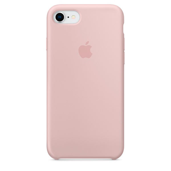 Чехол для iPhone Apple iPhone 8 / 7 Silicone Case Pink Sand (MQGQ2ZM/A) клип кейс vlp для apple iphone 7 8 серый