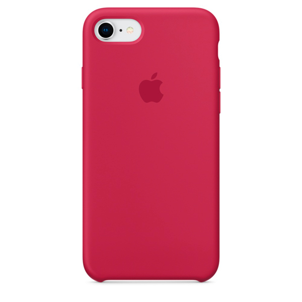 Чехол для iPhone Apple iPhone 8 / 7 Silicone Case Rose Red (MQGT2ZM/A) клип кейс guess flower desire для apple iphone x rose light прозрачный