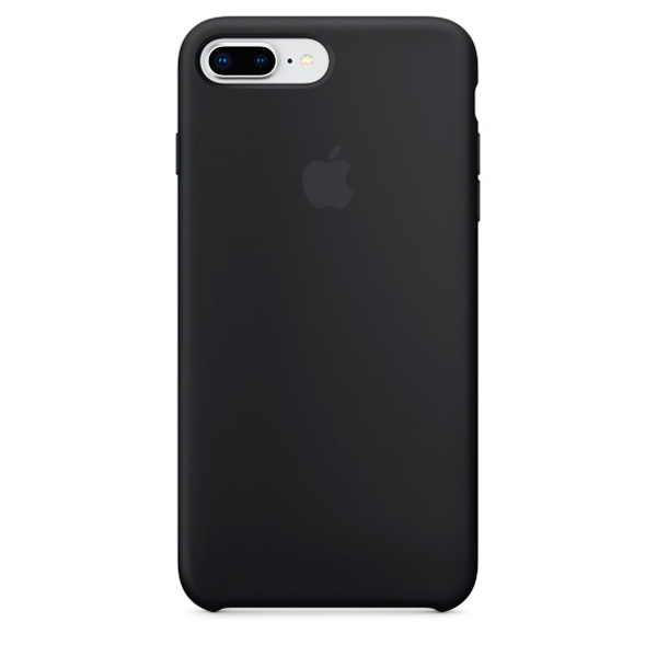 Чехол для iPhone Apple iPhone 8 Plus / 7 Plus Silicone Black (MQGW2ZM/A) apple чехол клип кейс apple для iphone 7 plus mptf2zm a
