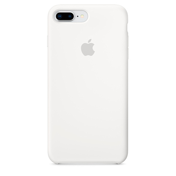 Чехол для iPhone Apple iPhone 8 Plus / 7 Plus Silicone White (MQGX2ZM/A) чехол накладка apple silicone case black для iphone 7 mmw82zm a силикон черный