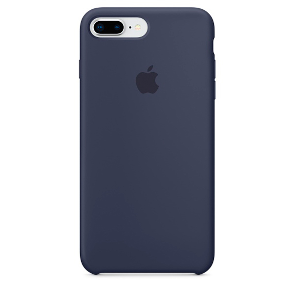 Чехол для iPhone Apple iPhone 8 Plus / 7 Plus Silicone Midnight Blue чехол для iphone apple iphone 7 silicone case midnight blue mmwk2zm a