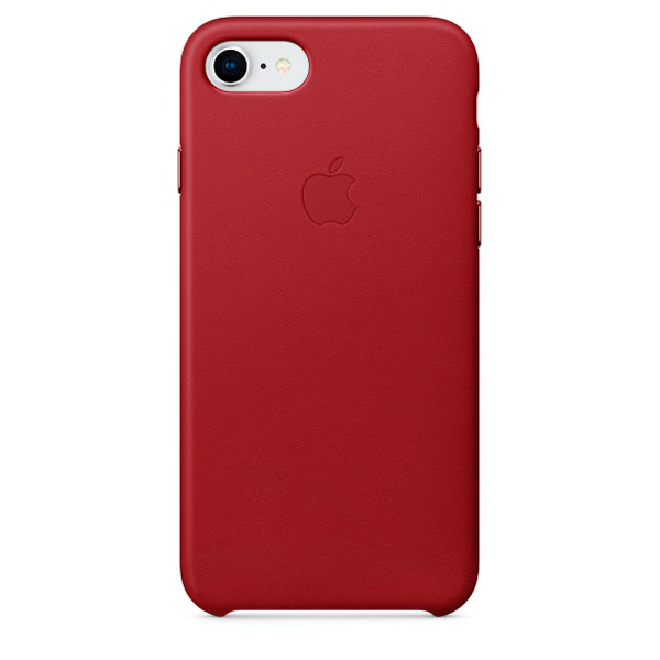 Чехол для iPhone Apple iPhone 8 / 7 Leather (PRODUCT)RED (MQHA2ZM/A) чехол для iphone apple iphone se leather case product red mr622zm a