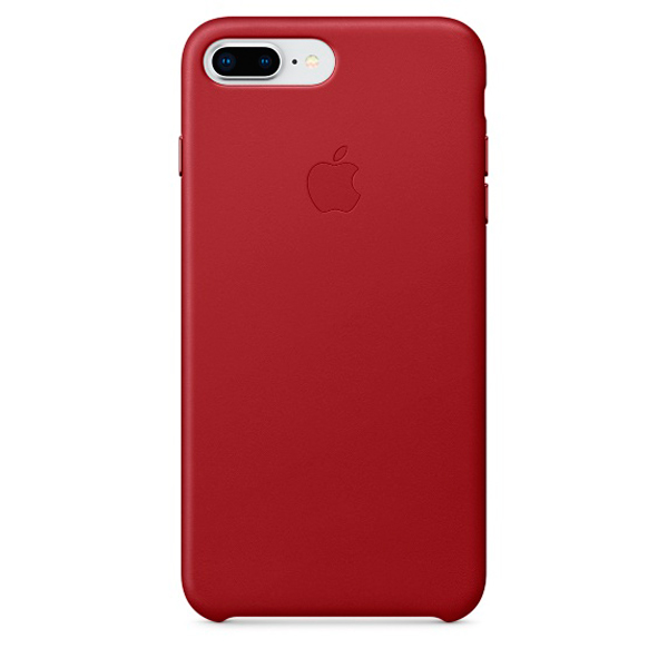 Чехол для iPhone Apple iPhone 8 Plus / 7 Plus Leather (PRODUCT)RED чехол apple для iphone 7 plus 8 plus silicone case product red