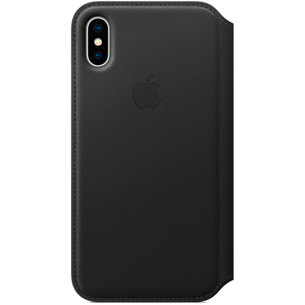 Фото - Чехол для iPhone Apple iPhone X Leather Folio Black (MQRV2ZM/A) чехол для iphone apple iphone x leather folio black mqrv2zm a