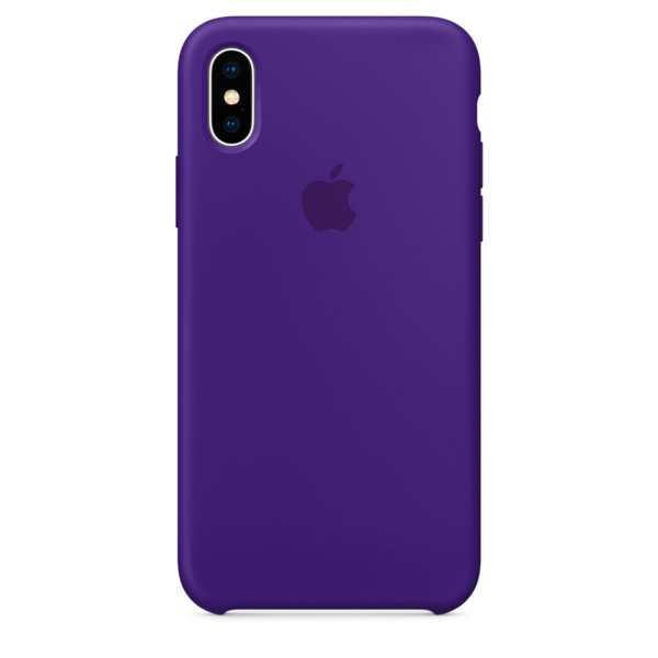 Чехол для iPhone Apple iPhone X Silicone Case Ultra Violet (MQT72ZM/A) чехол apple для iphone 7 8 silicone case ультрафиолет