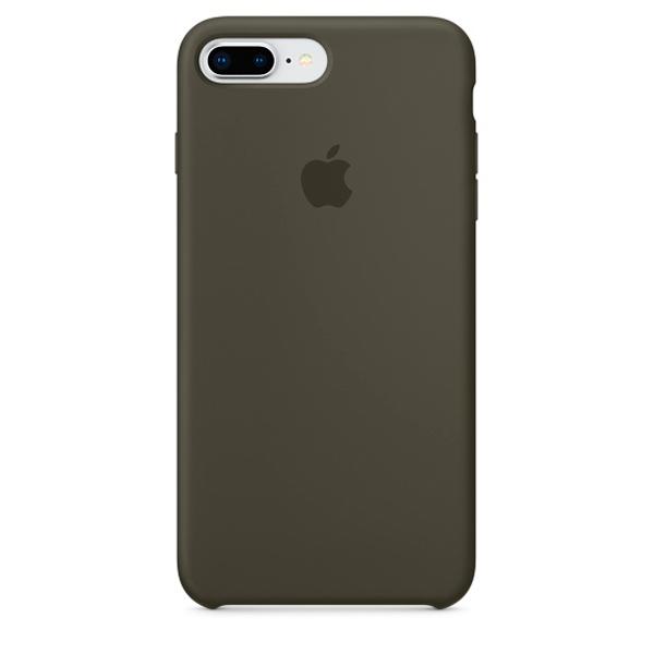 Чехол для iPhone Apple iPhone 8 Plus / 7 Plus Silicone Dark Olive