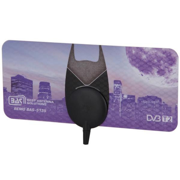 все цены на Антенна телевизионная комнатная Рэмо BAS-5135-5V Bat онлайн