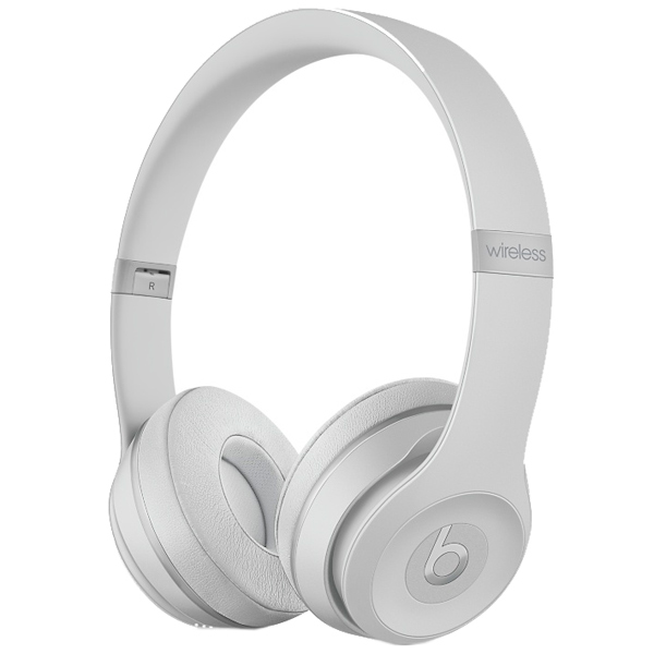Наушники Bluetooth Beats Solo3 Wireless Matte Silver (MR3T2ZE/A) наушники bluetooth beats studio3 wireless matte black mq562ze a