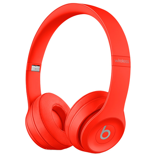 Наушники Bluetooth Beats Solo3 Wireless (PRODUCT)RED (MP162ZE/A)
