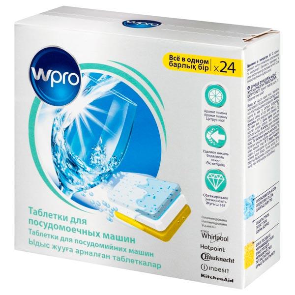 Моющее средство для посудомоечной машины Wpro TAB314
