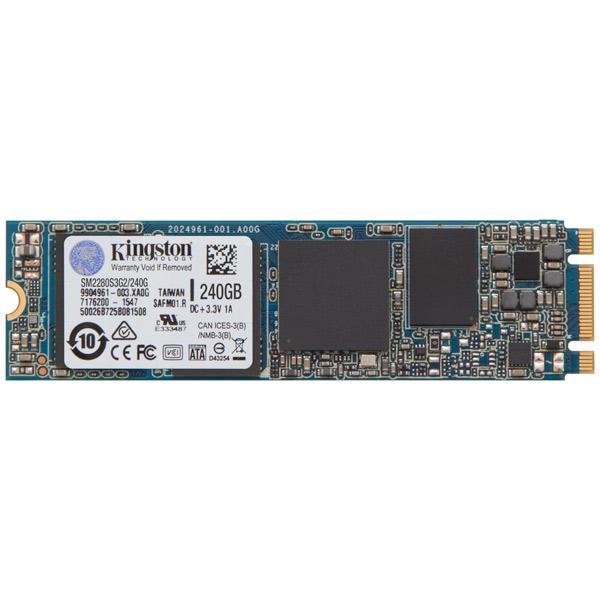 Внутренний SSD накопитель Kingston 240GB Kingston M.2 (SM2280S3G2/240G) kingston ssdnow msata ssd sata iii 120gb 240gb internal solid state drive hard disk for laptop notebook 120 gb 240 gb sms200s3