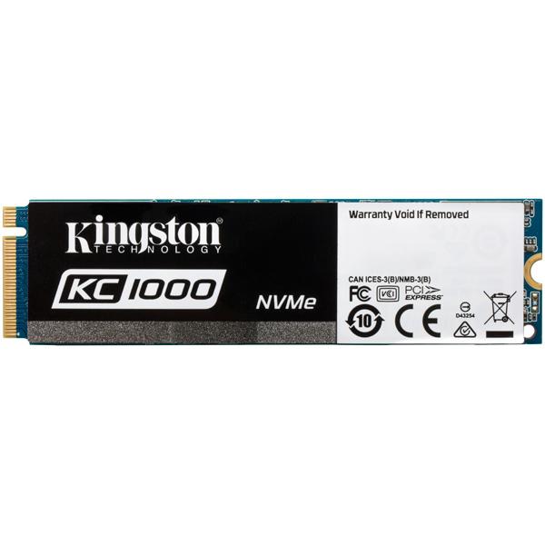 Внутренний SSD накопитель Kingston 480GB Kingston KC1000 (SKC1000/480G) цена и фото