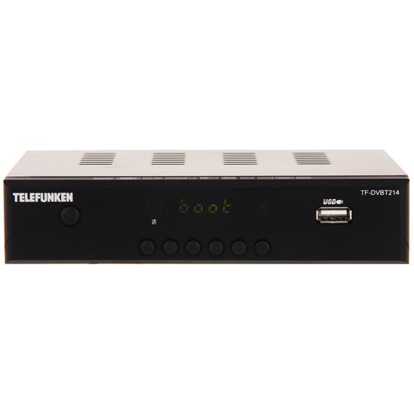Приемник телевизионный DVB-T2 Telefunken