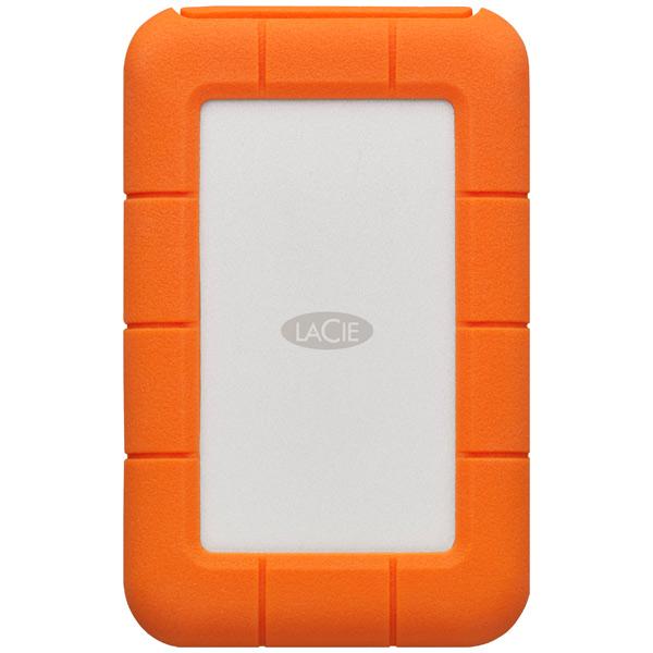 Внешний жесткий диск с Thunderbolt LaCie 500GB SSD Rugged Thunderbolt USB-C (STFS500400)