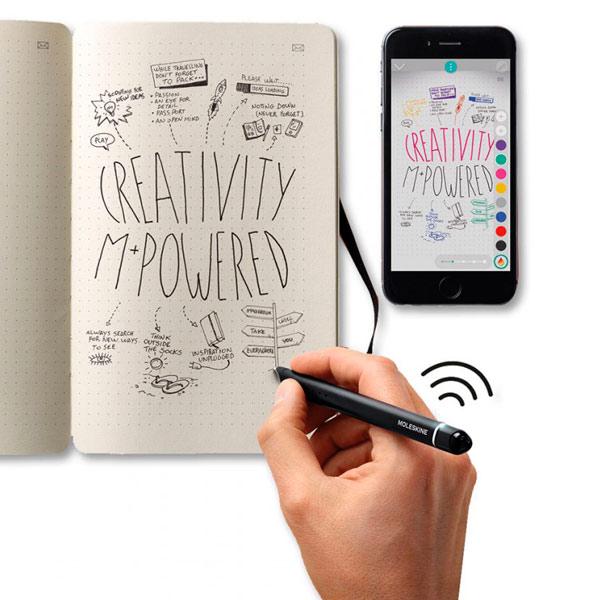 Планшет Moleskine Умная ручка + блокнот Smart Writing Set(NWP F110)