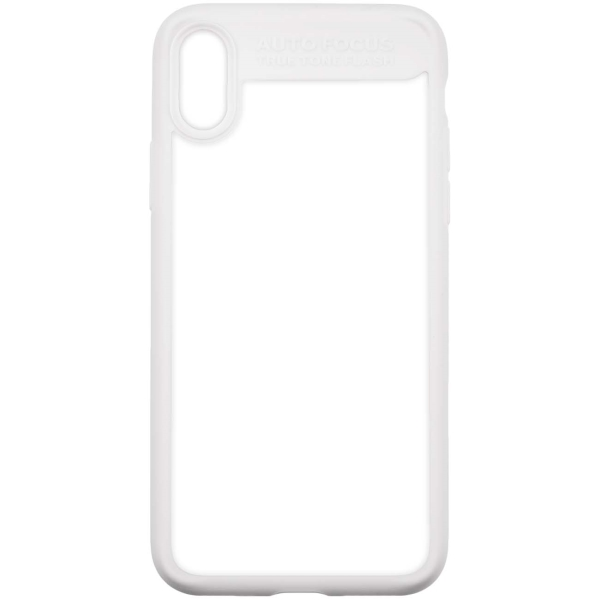 Чехол для iPhone InterStep iPhone X PURE-CASE ADV белый чехол для iphone interstep iphone 6 6s pure case adv прозрачный