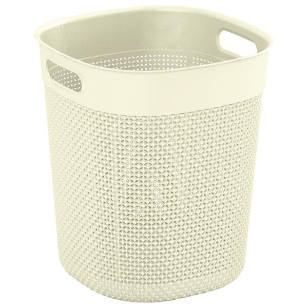 Корзина для белья KIS Filo Bucket 16л Cream