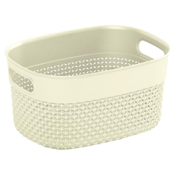 Корзина для белья KIS Filo Basket XS 3,5л Cream