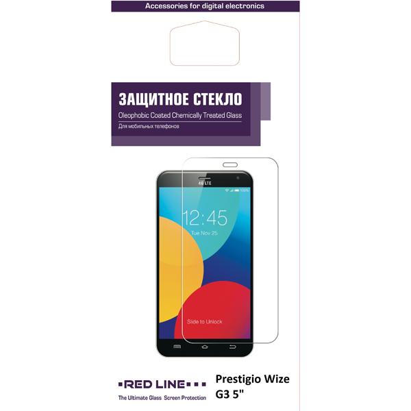 Защитное стекло Red Line для Prestigio Wize G3 планшет prestigio wize 3518 4g pmt3518