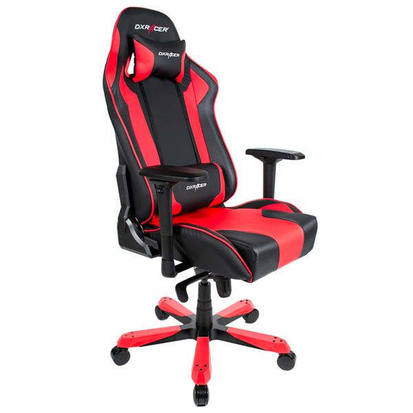 Кресло компьютерное игровое DXRacer OH/KS06/NR сиденья водительское для ваз 2112