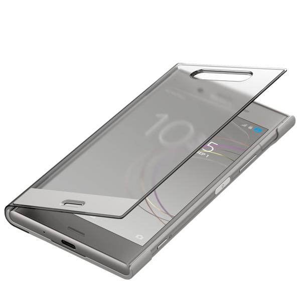 Чехол для сотового телефона Sony Xperia XZ1 Cover Touch Warm Silver (SCTG50) чехол книжка muvit folio для sony xperia e5