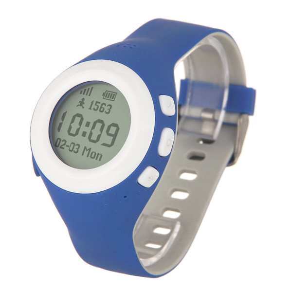 Часы с GPS трекером HIPER BabyGuard Blue (BG-01BLU) смарт часы hiper babyguard pink bg 01pnk 430 мач розовый bg 01pnk
