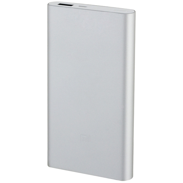 Внешний аккумулятор Xiaomi Mi Power Bank 2 10000 mAh Silver аккумулятор xiaomi power bank ndy 02 an vxn4110cn 10000 mah silver