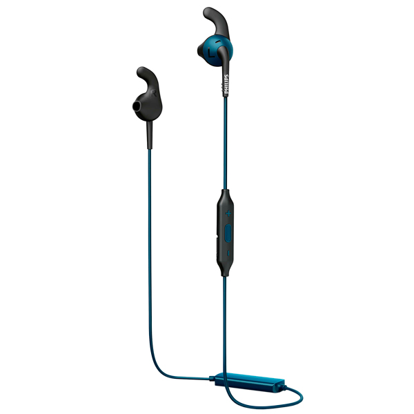 Спортивные наушники Bluetooth Philips ActionFit RunFree Blue (SHQ6500BL/00) спортивные наушники philips actionfit runwild blue shq1400bl 00