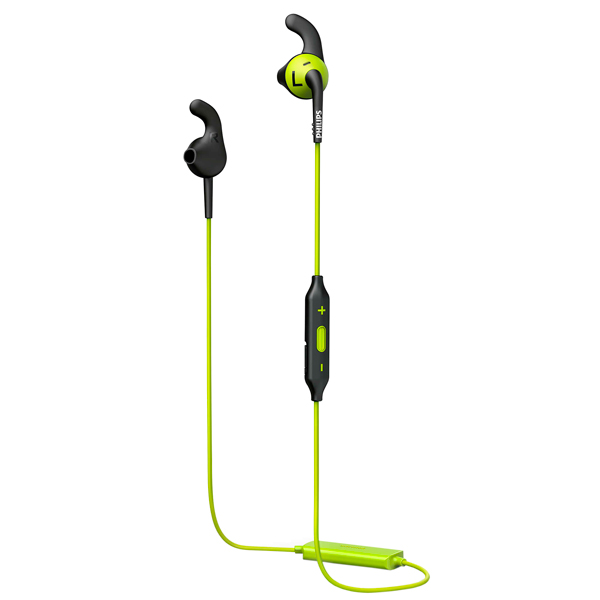 Спортивные наушники Bluetooth Philips ActionFit RunFree Green/Black (SHQ6500CL/00)