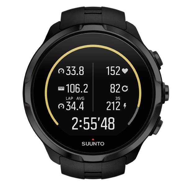 Спортивные часы Suunto Spartan Sport Wrist HR All Black (SS022662000) 15cm 9 6cm spartan helmet gun spartan helmet 2nd amendment car sticker black silver s3 4761